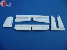 Pavla U48014 1/48 Resin Vought F4U-5/F4U-7 Corsair control surfaces Hasegawa
